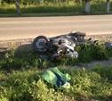 В Алексине старушка попала под мотоцикл