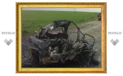 В аварии в Тульской области погибли два человека