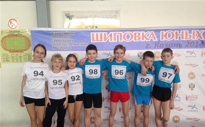 Юные тульские легкоатлеты отличились в Казани