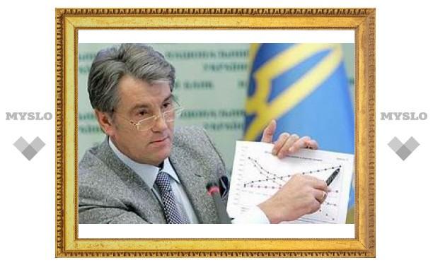 Ющенко обнаружил вред кредитов МВФ
