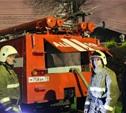 На ул. Головина в Туле произошел пожар в частном доме