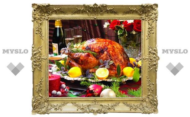 Новогодний кулинарный марафон: Летели-летели, на тарелку сели