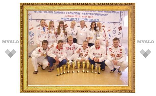 Туляки выиграли чемпионат Европы по акватлону