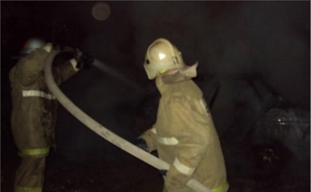 Ночью в Пролетарском районе сгорел ВАЗ-2114