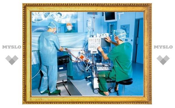 Тульскую областную больницу оснастят современным оборудованием