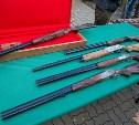 Победителям кубка губернатора по стендовой стрельбе вручили тульское оружие