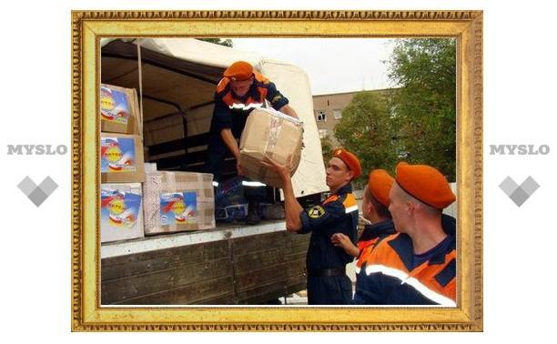 Где в Туле принимают гуманитарную помощь для Краснодарского края