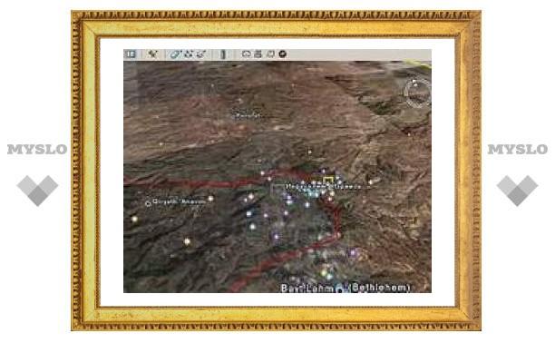 Палестинские боевики воюют по снимкам Google Earth