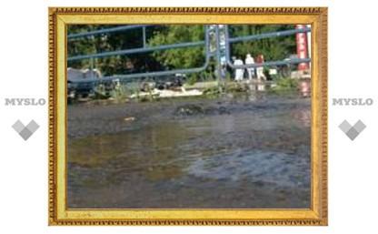 """Рынок """"Южный"""" в Туле затопило!"""