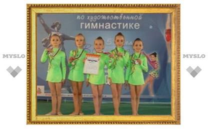 """Тульские гимнастки взяли российское """"серебро"""""""