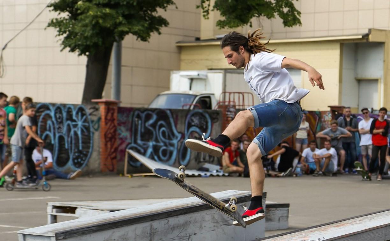 В Щекино на праздновании дня города выступили спортсмены-экстремалы