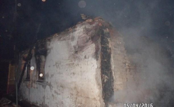В Плавском районе на пожаре погиб 44-летний мужчина