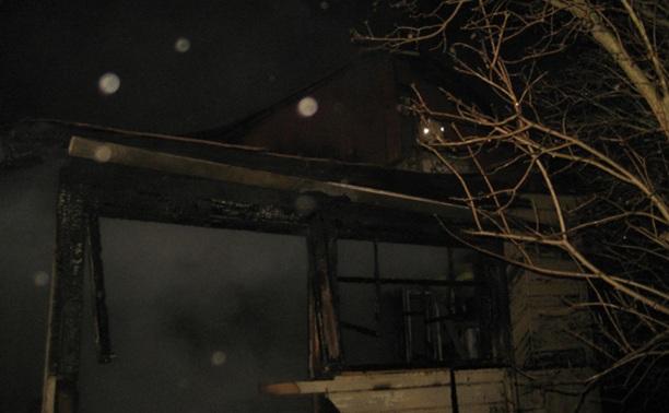 Пожар в Пролетарском районе тушили четыре пожарных расчета