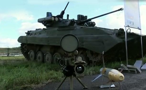 Тульское КБП продемонстрировало новинки оборонной промышленности в Подмосковье