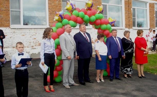 Николай Воробьёв побывал на торжествах в честь Дня знаний в Суворове