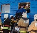 Учения МЧС: В Туле «произошла авария» с двумя поездами и легковушкой