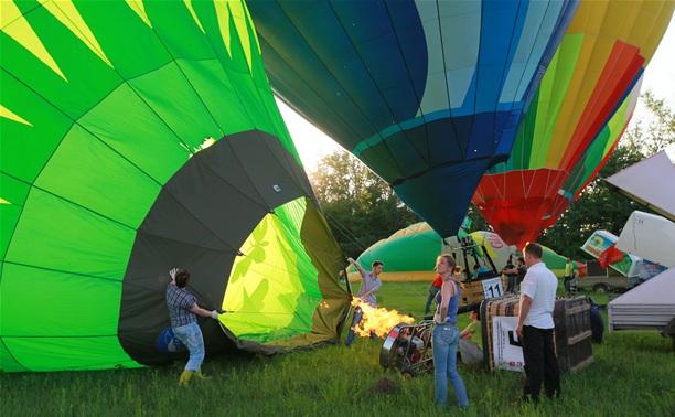 В небо над Тулой вновь поднялись воздушные шары