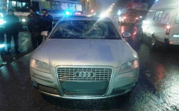 В Новомосковске водитель «Ауди» сбил пешехода на «зебре»