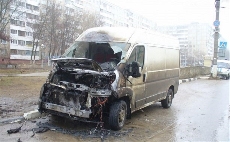 Утром 1 марта в Заречье сгорел «Фиат Дукато»