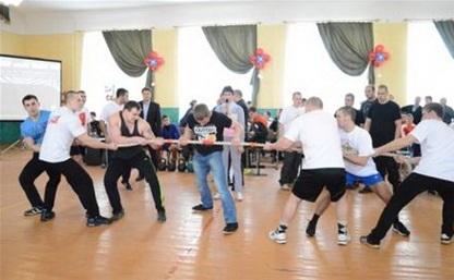Управление ФСКН выиграло в спортивном конкурсе