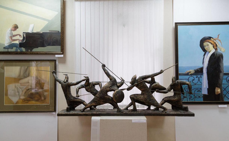 Тульский колледж искусств отметил 30-летие отделения «Живопись» и 10-летие отделения «Скульптура»