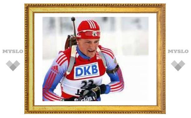 Дмитрий Ярошенко выиграл спринтерскую гонку на этапе Кубка мира по биатлону