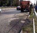 За неделю в Туле провели ямочный ремонт на 650 кв. м дорог