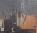Ночью в Донском при пожаре погиб человек
