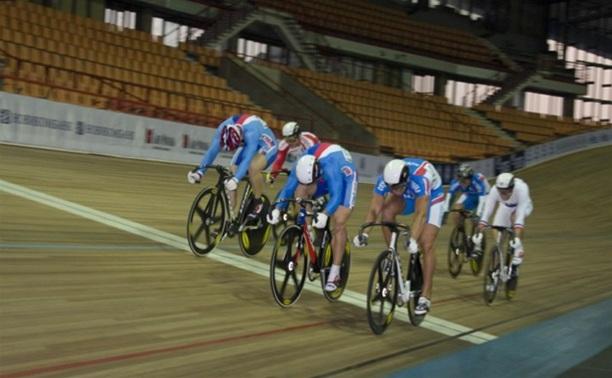 Тульские велосипедисты посоревновались на велотреке «Крылатское»