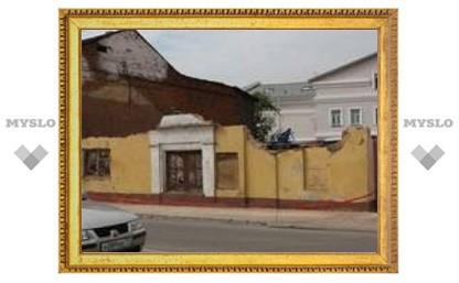 В историческом центре Тулы разрушили памятник