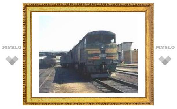 В Хабаровском крае сошли с рельсов 11 вагонов грузового поезда