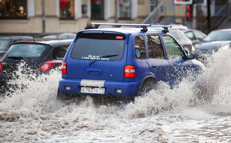 В Тульской области ожидаются аномальные дожди – до половины месячной нормы