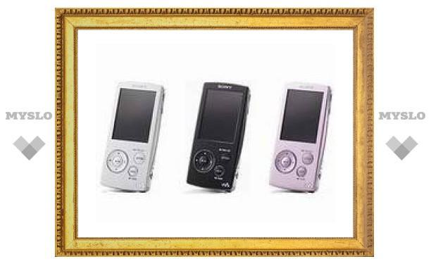 Sony представила новые цифровые плееры серии А800