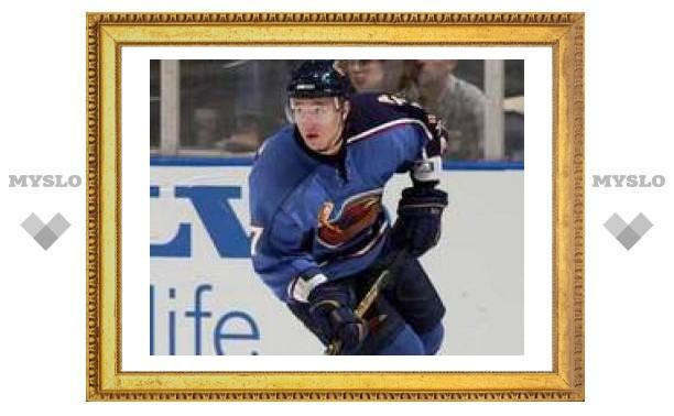 Илья Ковальчук признан лучшим игроком ноября в НХЛ