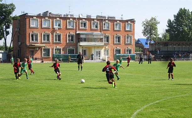 Юные тульские футболисты стартовали в «Локоболе-2013»
