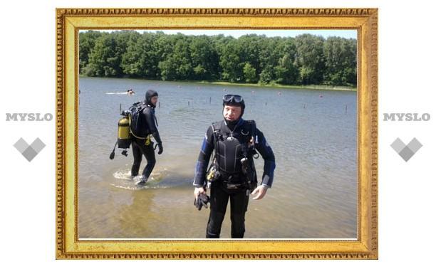 Александр Прокопук и дайверы клуба «Океан» почистили пруд в Центральном парке