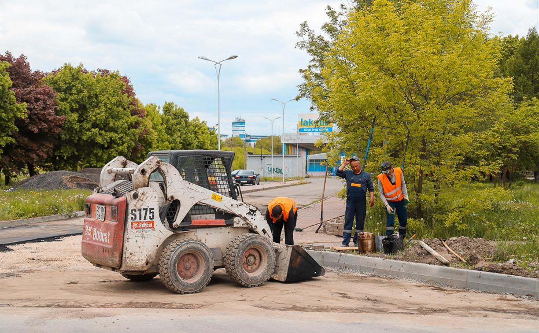 В Туле улицу Маршала Жукова отремонтируют к 1 июля