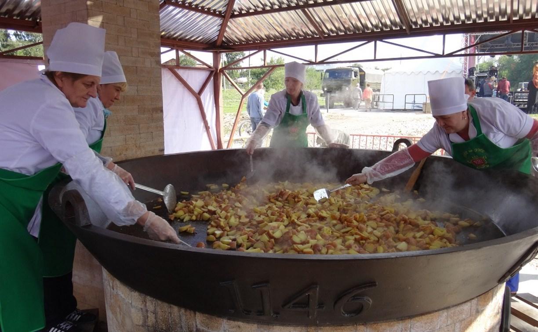 Туляки съели более 600 кг жареной картошки