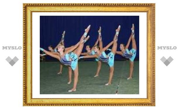Тульские гимнастки поехали на Чемпионат России