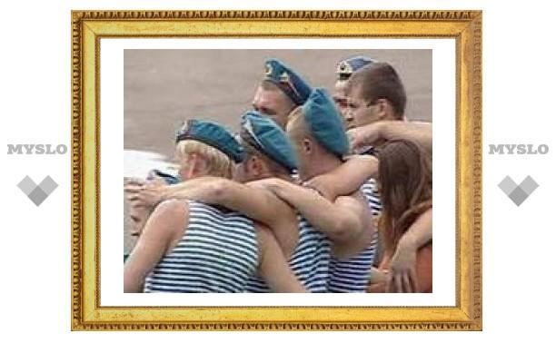 Тульские десантники отметят свой праздник по-скромному