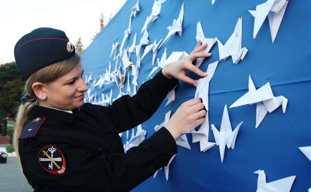 Больше 300 тульских полицейских приняли участие во Всероссийской акции «Завтра была война»