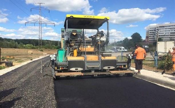 В Туле ремонтируют шесть участков дорог