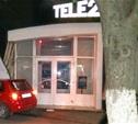 На ул. Первомайской иномарка въехала в офис Tele2