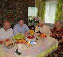 Тульская чета Лазаренко отметила 65-летие совместной жизни