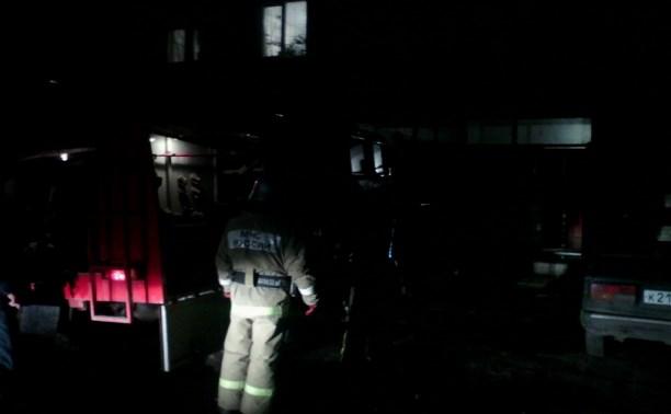 В Туле при пожаре погиб мужчина