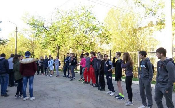 Команда лицея №2 победила в городской легкоатлетической эстафете