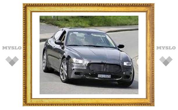 "Maserati Quattroporte получит новое ""лицо"""