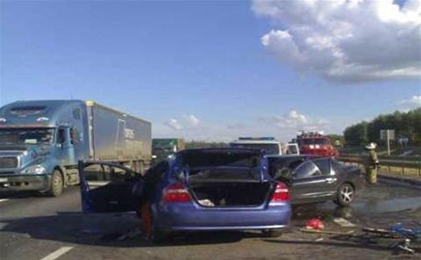 В Тульской области потерпевшего извлекали из машины с помощью «Спрута»