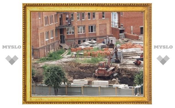 В Туле увеличились темпы строительства