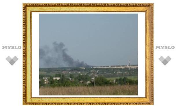 В Туле загорелся завод